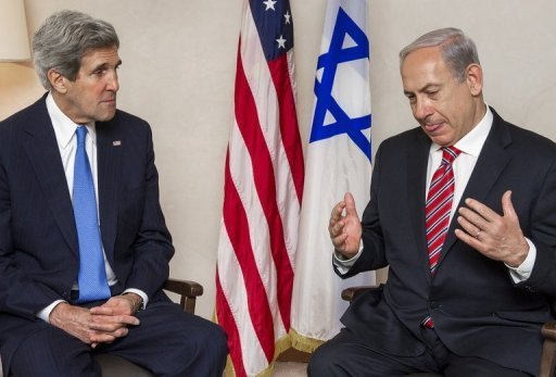 The announcement came just days after Netanyahu reportedly ordered a freeze on tenders for new West Bank settler homes to avoid harming efforts by  Kerry to bring both sides back to the negotiating table (AFP File Photo)
