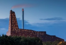 The Twin Towers in Roskilde, Denmark