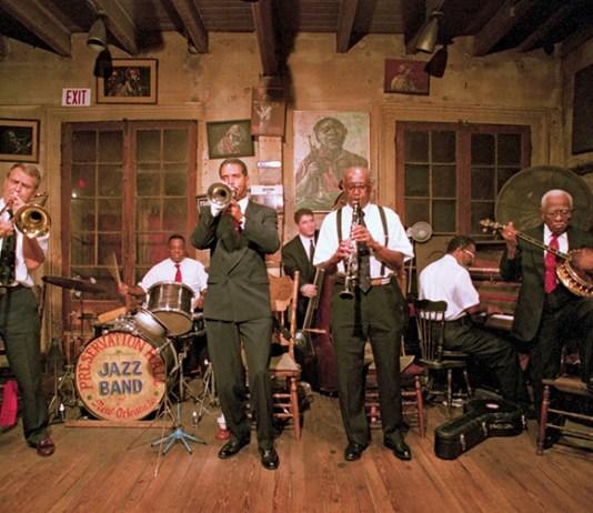 The Scandinavian Jazz Church in New Orleans