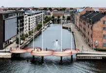 Circle Bridge in Copenhagen