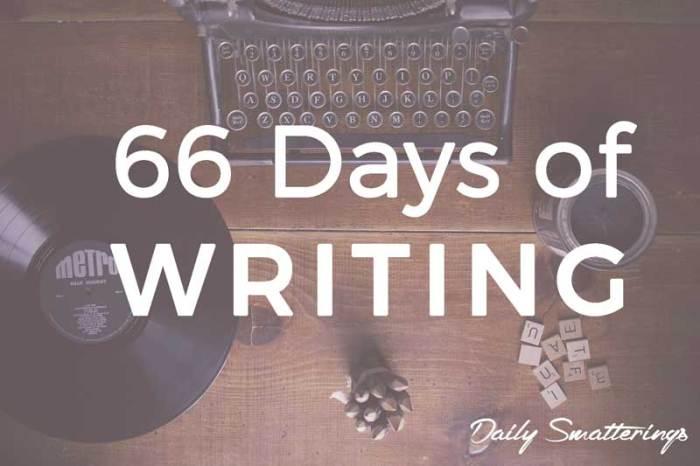 66-Days-of-Writing