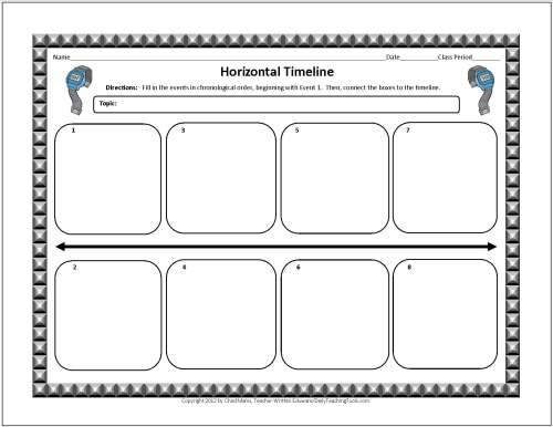 Timeline Template For Student Free Timeline Template For Phd