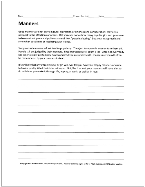 Classroom Behavior Management A Comprehensive Set of Strategies - teacher letter to parents about behavior problems