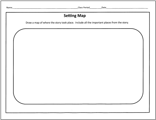 25 Language Arts Graphic Organizers for You and Your Kids - story map template