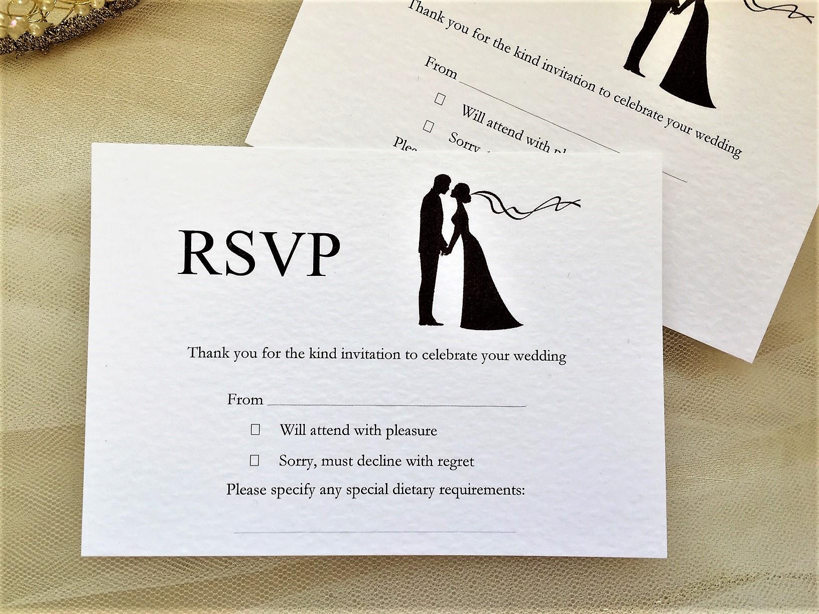 rsvp wedding cards