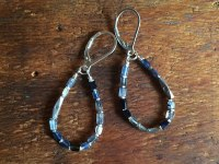 Kyanite Teardrop Earrings  Jewelry Shop  Daisy Chains