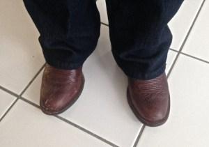 cowboy, boots, jeans