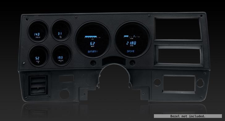 1973 1987 Chevy Gmc Pickup Digital Instrument System