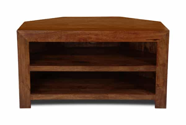Dakota 2 Shelf Corner Tv Unit Dakota Furnituretm