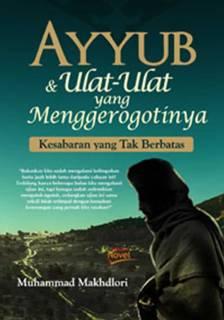 "Cover buku ""Ayyub & Ulat-Ulat yang Menggerogotinya"". (ist)"
