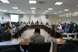 Silaturahim pimpinan Ormas Islam dan dengar pendapat RUU keumatan di ruang pleno Fraksi PKS, Gedung DPR, Senayan, Jakarta, Kamis (21/2/2013). (ist)