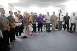 Konsolidasi kader PKS Kuala Lumpur yang terdiri dari ekspatriat, mahasiswa, ibu rumah tangga, permanent resident dan pekerja Indonesia di gedung Adni Training Building, Kuala Lumpur, Ahad, 17 Februari 2013. (Taufik Subhi Ahmad)