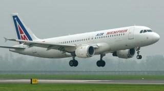 Air Memphis, Mesir