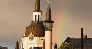 Ilustrasi - Sebuah Masjid di Swedia. (inet)
