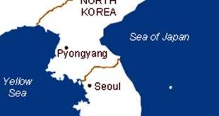 Ilustrasi - Peta Korea Utara dan Korea Selatan. (inet)