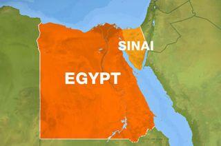Ilustrasi - Peta Mesir. (inet)