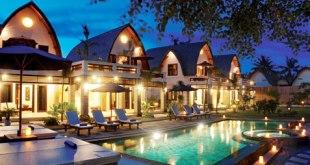 Salah satu hotel di Lombok (inet)