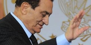 Husni Mubarak, mantan presiden Mesir