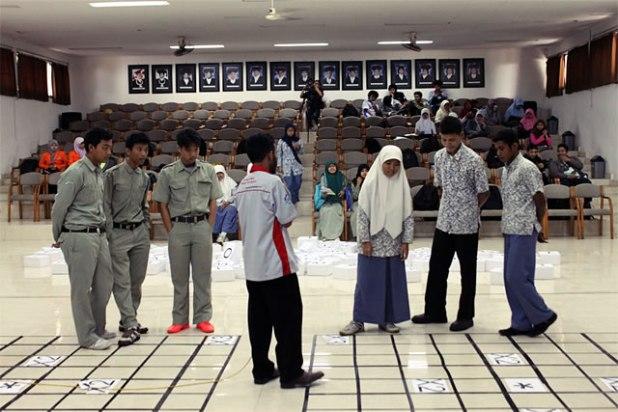 """Acara Cerdas Cermat """"Dare to Win"""" dalam rangka Ramadhan di Kampus (RDK) LDK Jama'ah Shalahuddin UGM, Sabtu (27/7/2013). (ist)"""