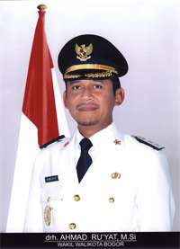Achmad Ru'yat., Wakil Walikota Bogor