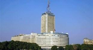 Gedung Maspero, tempat seluruh stasiun televisi dan radio berkantor (inet)