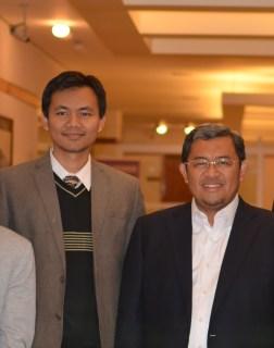 Gubernur Ahmad Heryawan bersama Arya Sandhiyuda