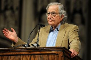 Noam Chomsky, pemikir dan penulis Amerika (inet)