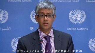 Farhan Haq, wakil juru bicara Sekjen PBB (inet)