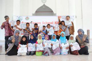 Penyaluran School Kit di Lhoong Kab. Aceh Besar