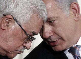 Mahmoud Abbas dan Benyamin Netanyahu