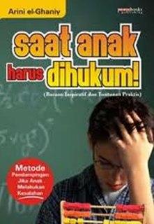 """Cover buku """"Saat Anak Harus Dihukum!"""""""