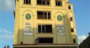Kantor pusat Ikhwanul Muslimin telah ludes dirusak pendukung kudeta (inet)