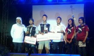 Unila Juara KRTI 2013 (foto: unila)