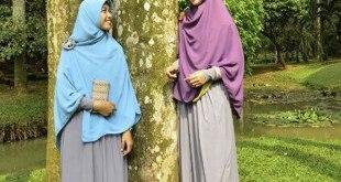 Hijab Syar'i (Ilustras)i. (twitter.com/FaziaHijab)