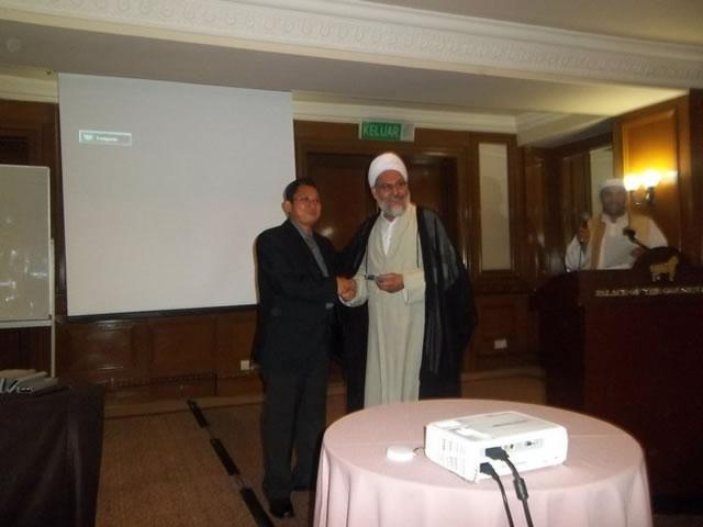 International Conference on Da'wah (Prof Dr. Mohd Fakir Maybidi - Ulama Iran)