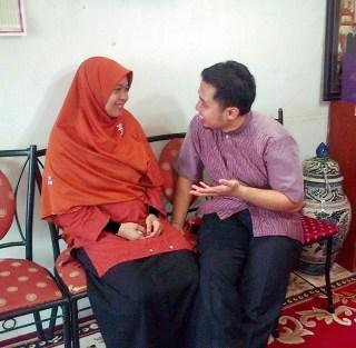 Akmal Ahmad dan Rahma Dien. (Foto: Akmal Ahmad)