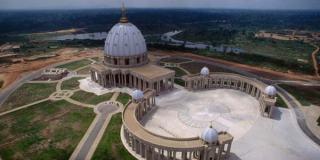 Basilika Alang-alang, gereja tanpa umat di Pantai Gading (foto: inilah.com)
