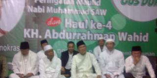 ppp menggelar peringatan Maulid Nabi Muhammad SAW dan Haul ke-4 Gusdur di kantor DPP Menteng, Selasa 14/1/14 (Foto: kompas.com)
