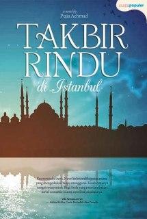 "Cover buku ""Takbir Rindu di Istanbul"". (ist)"