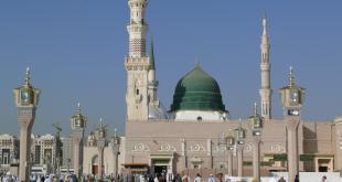 Masjid Nabawi, di Madinah Al-Munawwarah (hawahome.com)