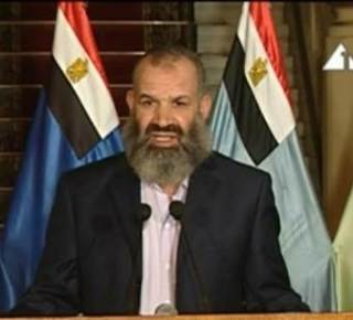 Perwakilan Partai Salafi An-Nur saat menggulingkan Presiden Mursi (islammemo)
