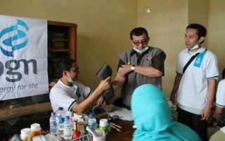 Menteri Sosial Salim Segaf Al Jufri mengunjungi Posko Kesehatan PGN - RZ, Kediri, Ahad (16/2) - Foto: RZ
