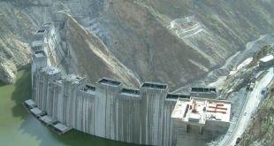 Bendungan Renaissance yang sedang dibangun di Ethiopia (shourouknews.com)