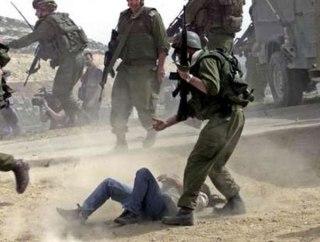 Kekejaman pasukan Israel - ilustrasi (Foto: an-najah.net)