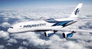 Malaysia Airlines saat terbang dalam ketinggian (ilustrasi).  (tvn24.pl)