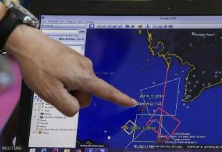 Rute Penerbangan Pesawat Malaysia Airlines saat hilang setelah 1 jam lepas landas. (hirpub.hu)