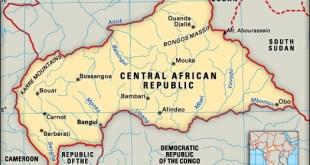 Afrika Tengah (infoplease.com)