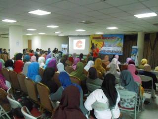 Pelatihan Kewirausahaan PKPU diikuti oleh sekitar 120 peserta bertempat di gedung Parahita Bandung (11/3) - Foto: PKPU