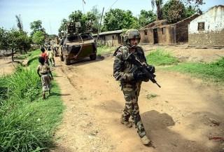 Pasukan pemelihara perdamaian di Afrika Tengah (anadolu)