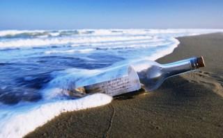 Sepucuk surat di dalam botol (inet) - Foto: 58pic.com